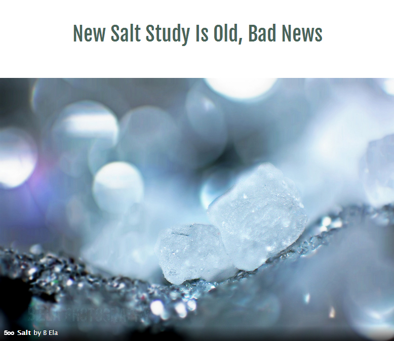 Why Everything We Know About Salt May Be Wrong - The New ...