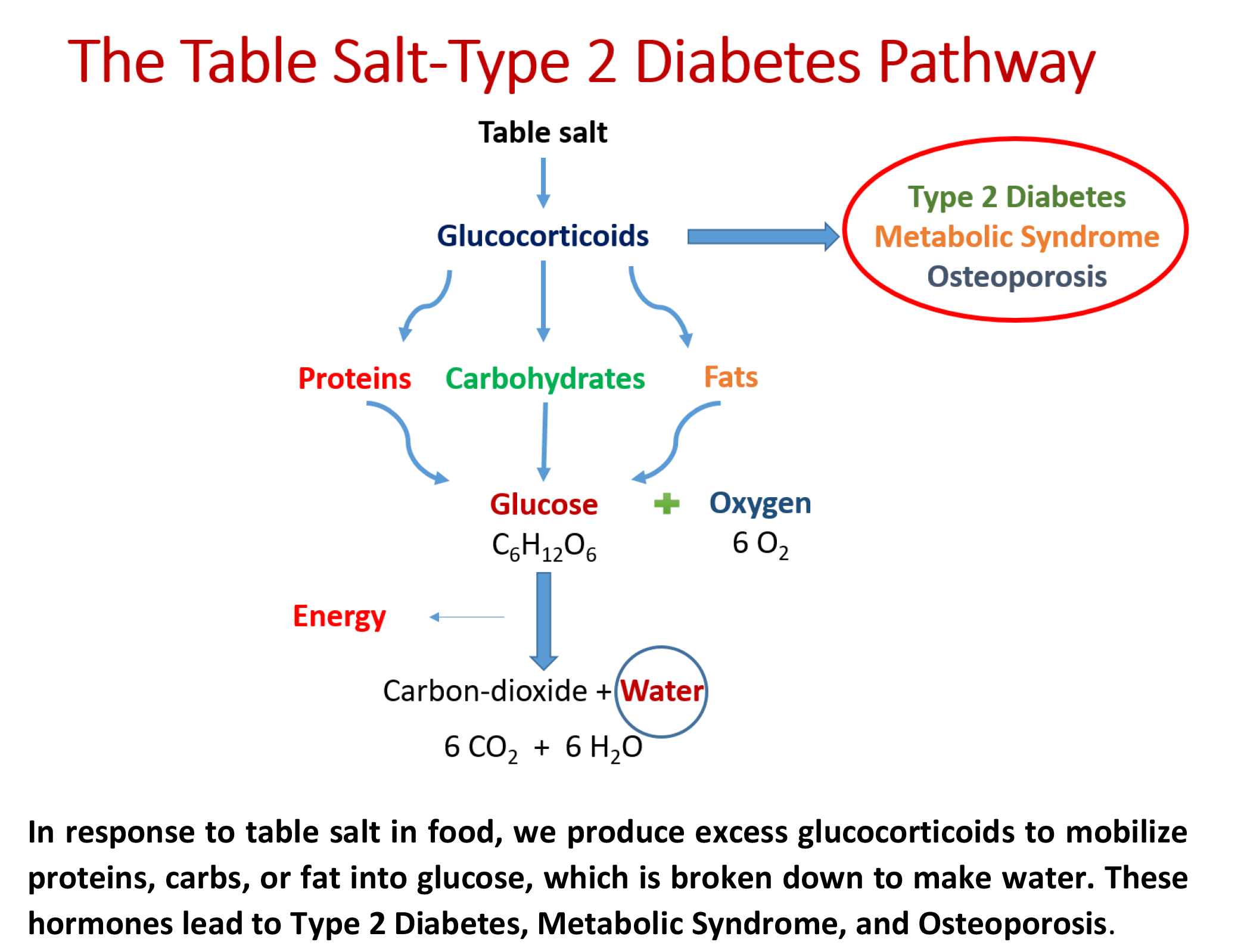 Research links use of salt to adult onset diabetes